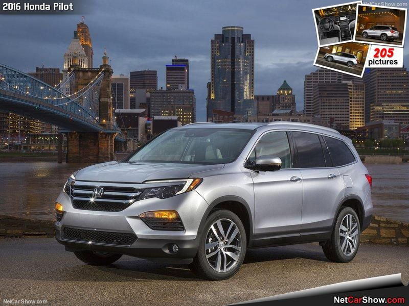 The All New 2016 Honda Pilot SUV With Seating Up To Eight Passengers