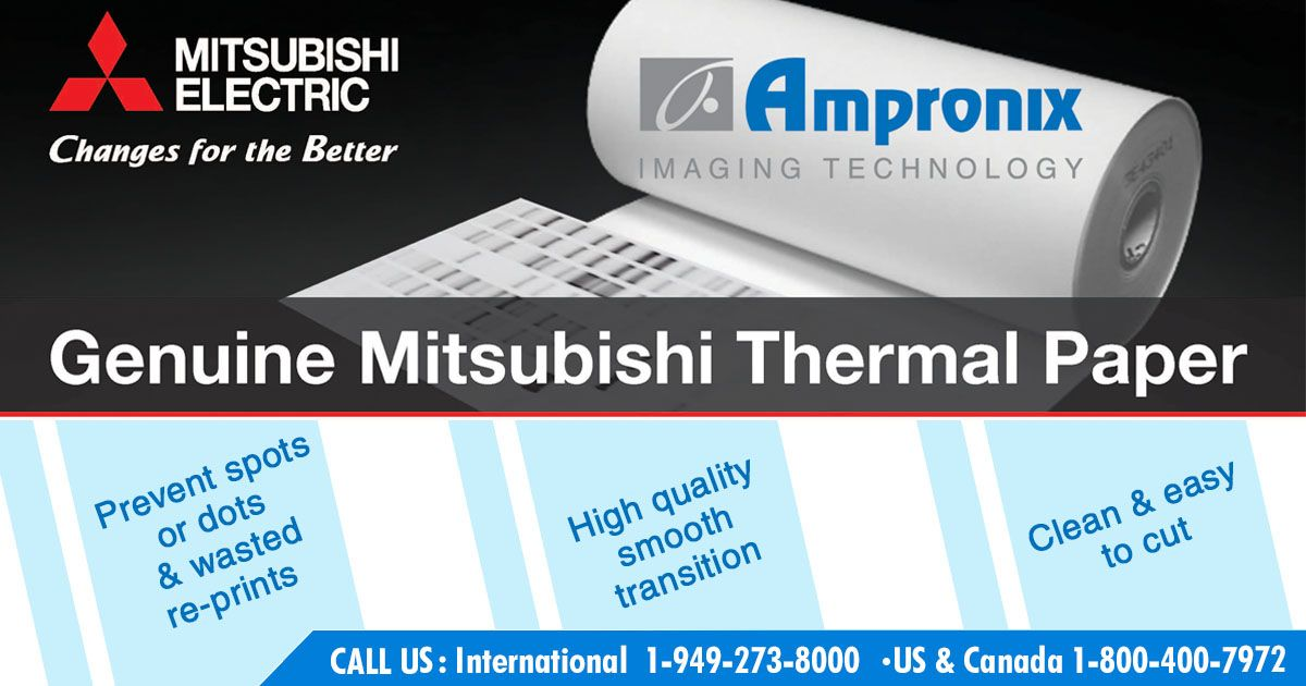 Genuine Thermal Paper From Mitsubishi Electric Is Developed Specifically For The P93w And P95dw Printers These The High Quality Images Printer Heating Element