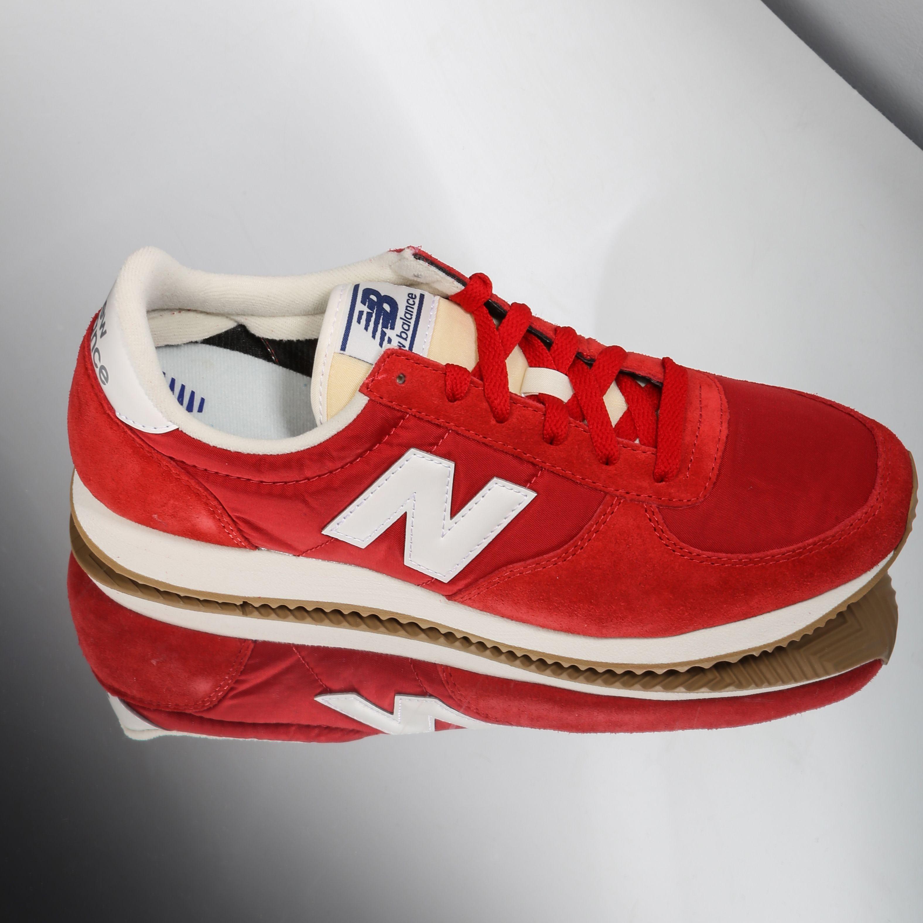 zapatillas new balance u220 roja