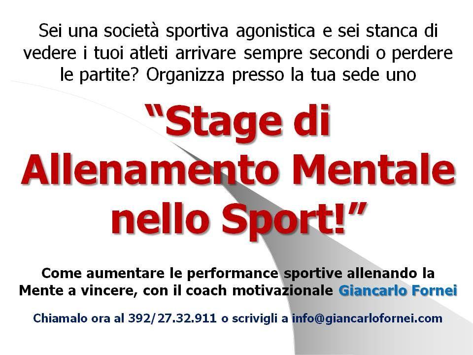 https://flic.kr/p/G4iDKr | Stage di Allenamento Mentale nello Sport con il coach Giancarlo Fornei | Clicca sul link e prenota il tuo stage: come-allenare-la-mente-a-vincere.blogspot.it/2017/10/stag...