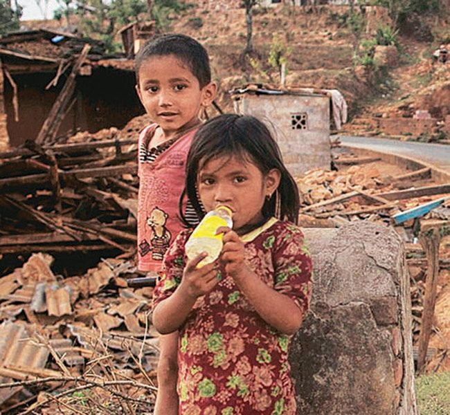 children orphaned in nepal earthquake - Google Search