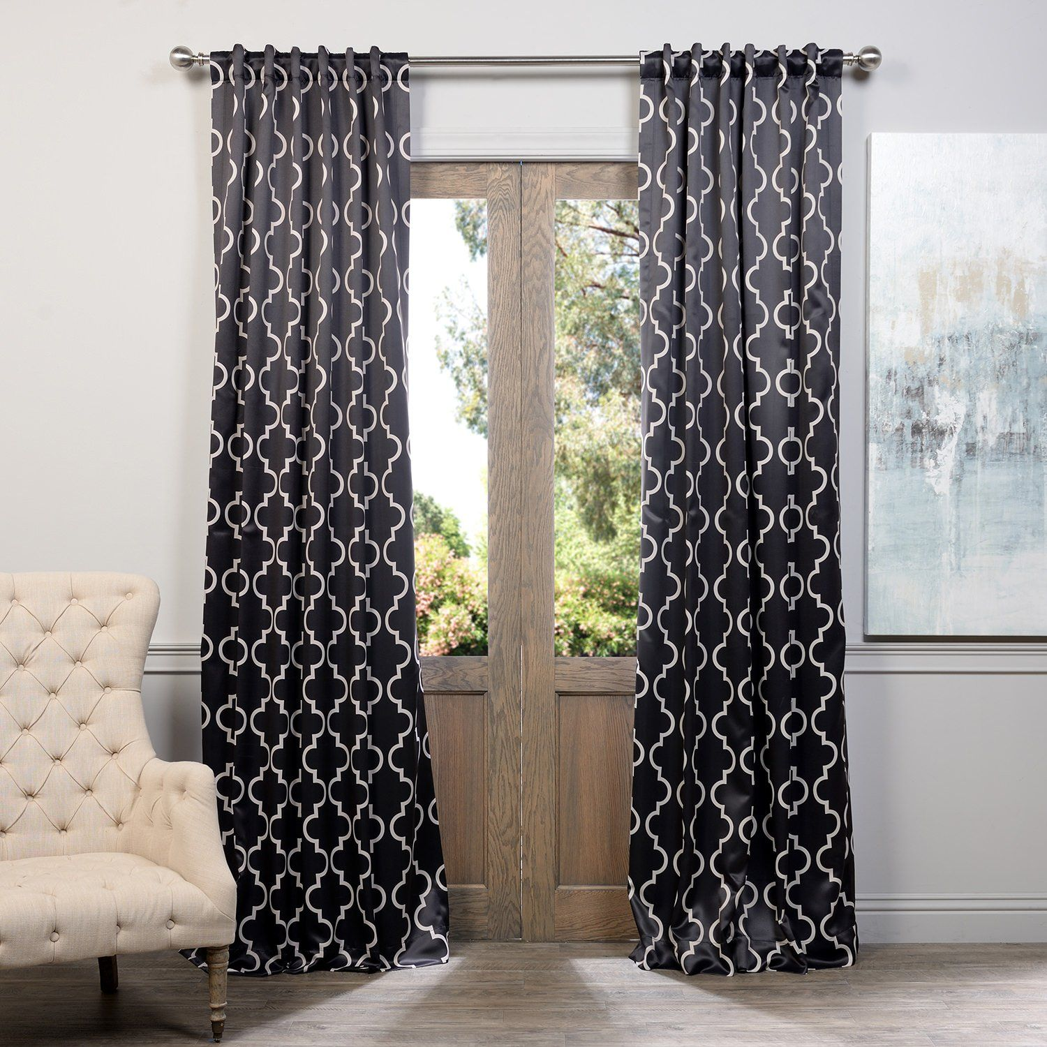 Amazon Half Price Drapes BOCH KC21 96 Blackout Curtain