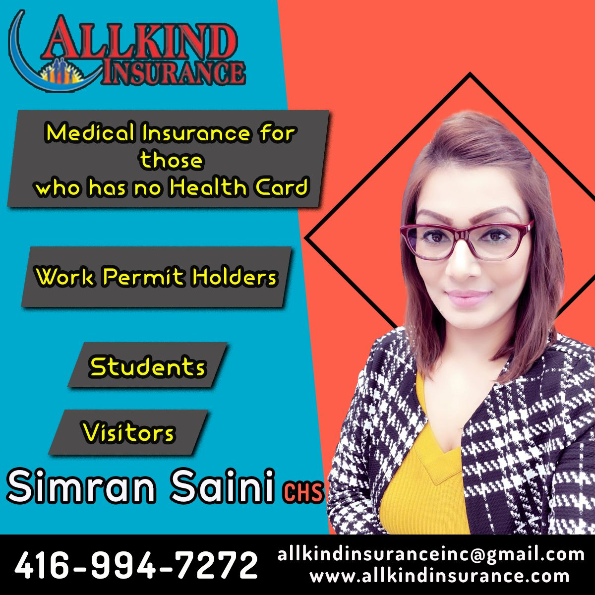 Medical Insurance For Those Who Have No Health Card Work Permit