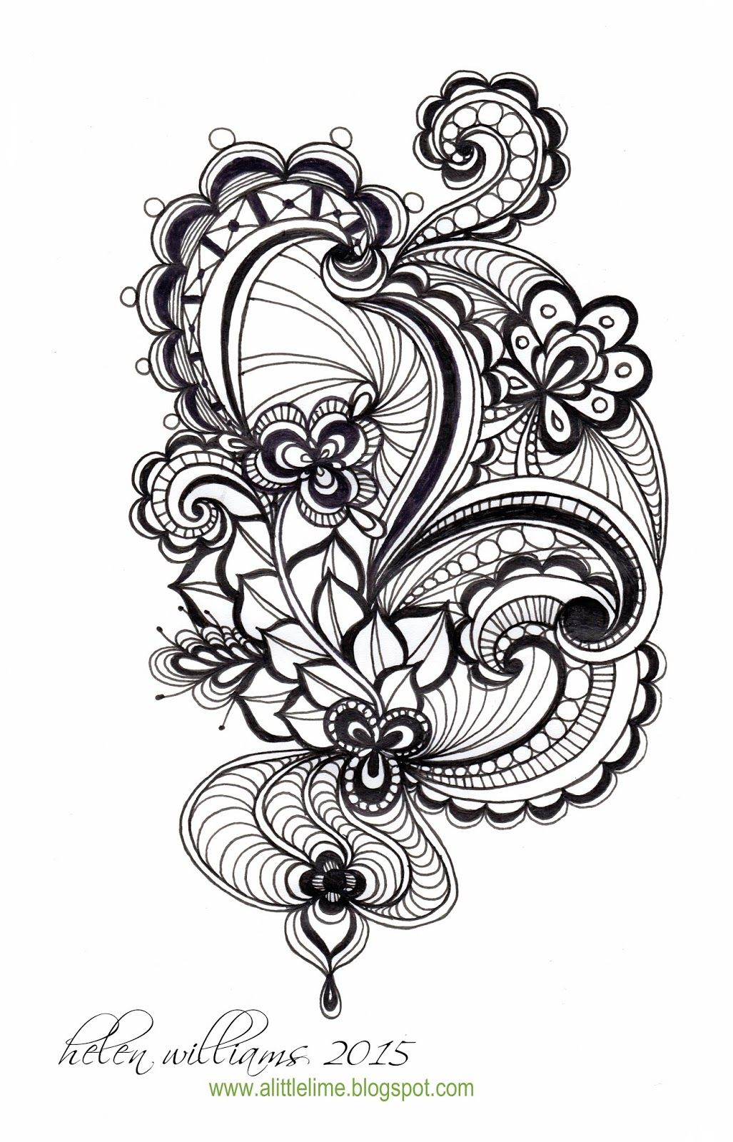 Image Gallery Zentangle Drawings Zentangle Patterns Doodles