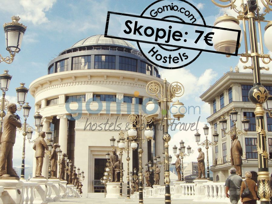Skopje, #Macedonia 7€/ $8,50   The city of Skopje has always been a #centre of #power! Nowadays Skopje is the financial and political centre of Macedonia. The #history of Skopje is key for the #European and #Asian history. For #cheapest #prices in #budget #accommodation, check out our cheap #hostels in #Skopje. http://www.gomio.com/en/hostels/europe/macedonia/skopje/search.htm  #SummerDestination #EuropeanSummer #backpacking #travel