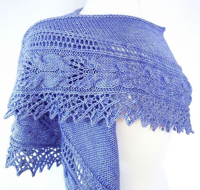 Ravelry: Lilyanna Shawl pattern by Dee O'Keefe
