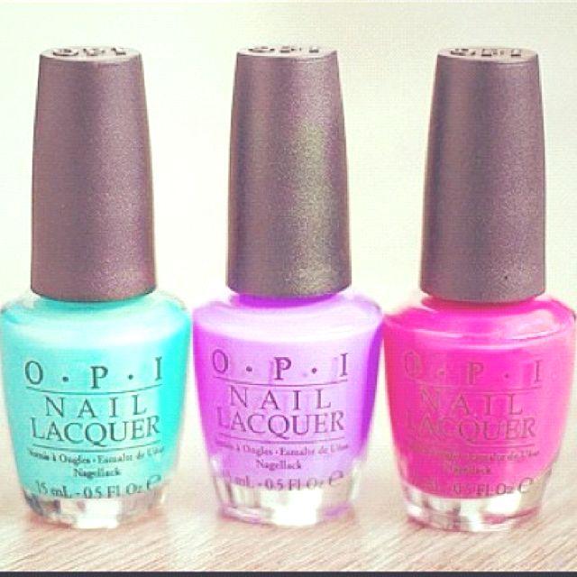 Lovely Opi Nail Polish Colors