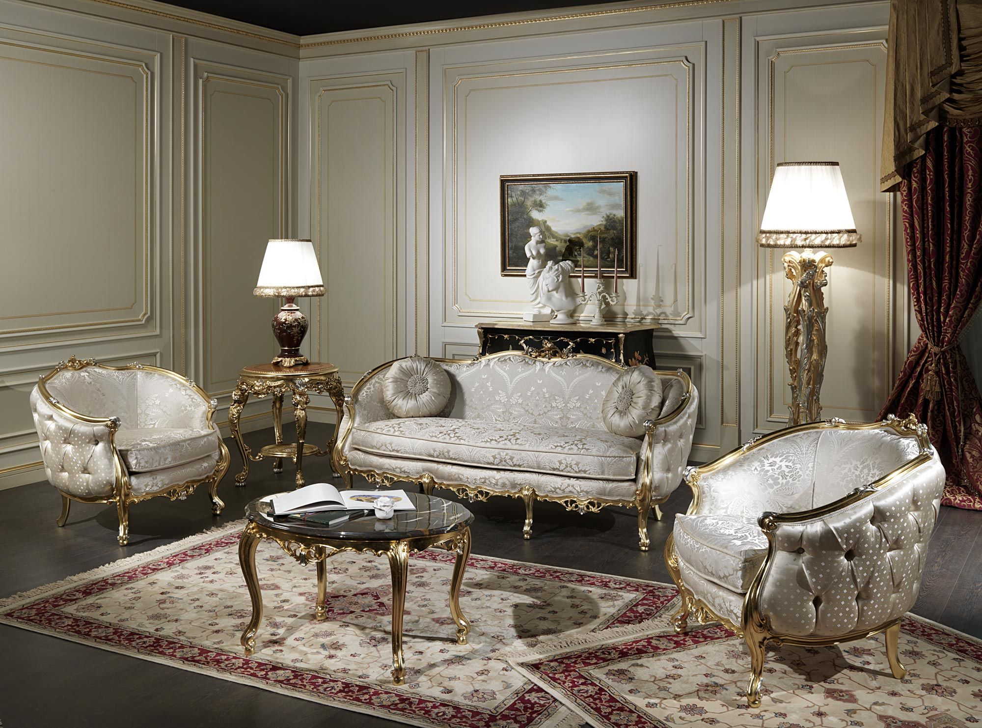 Classic Living Room Furniture Of The Venezia Luxury Collection. A Real Jewel  Luigi XV Style