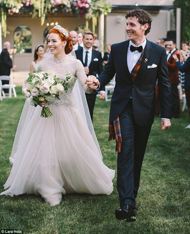 The Wiggles Emma Watkins Stuns As She Marries Lachy Gillespie Wedding GownsWedding