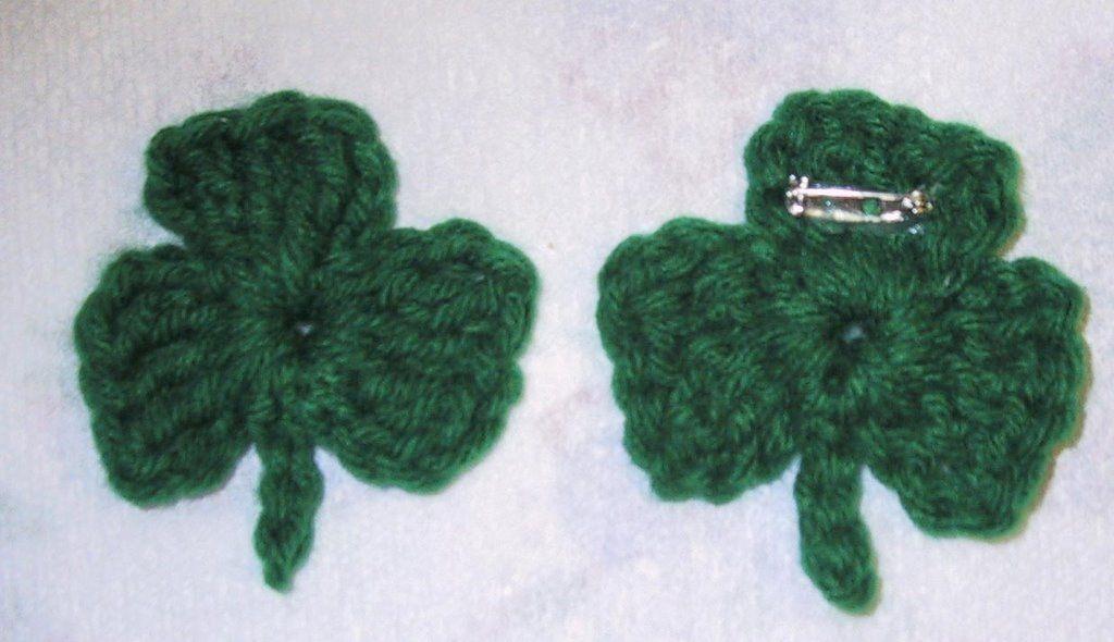 Crochet Clover Pattern Httpsknittingcrochetcrochet Clover
