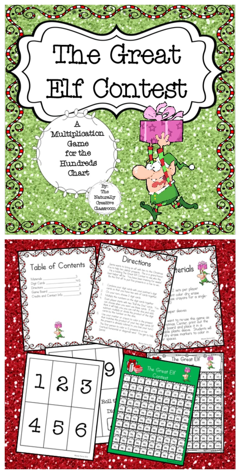 The Great Elf Contest: A multiplication game for the 100s chart ...
