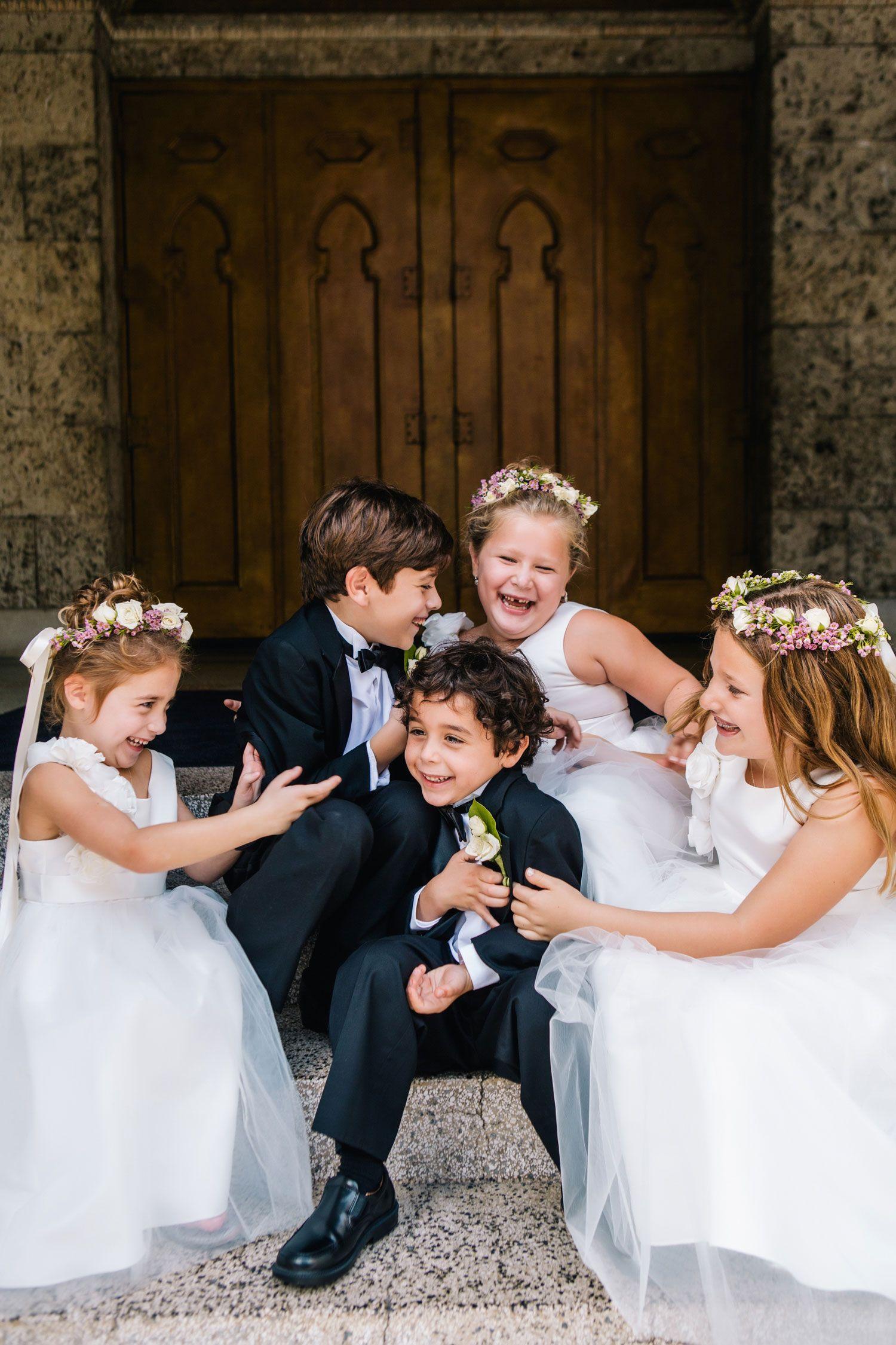Adorable flower girl ring bearer outfit ideas wedding