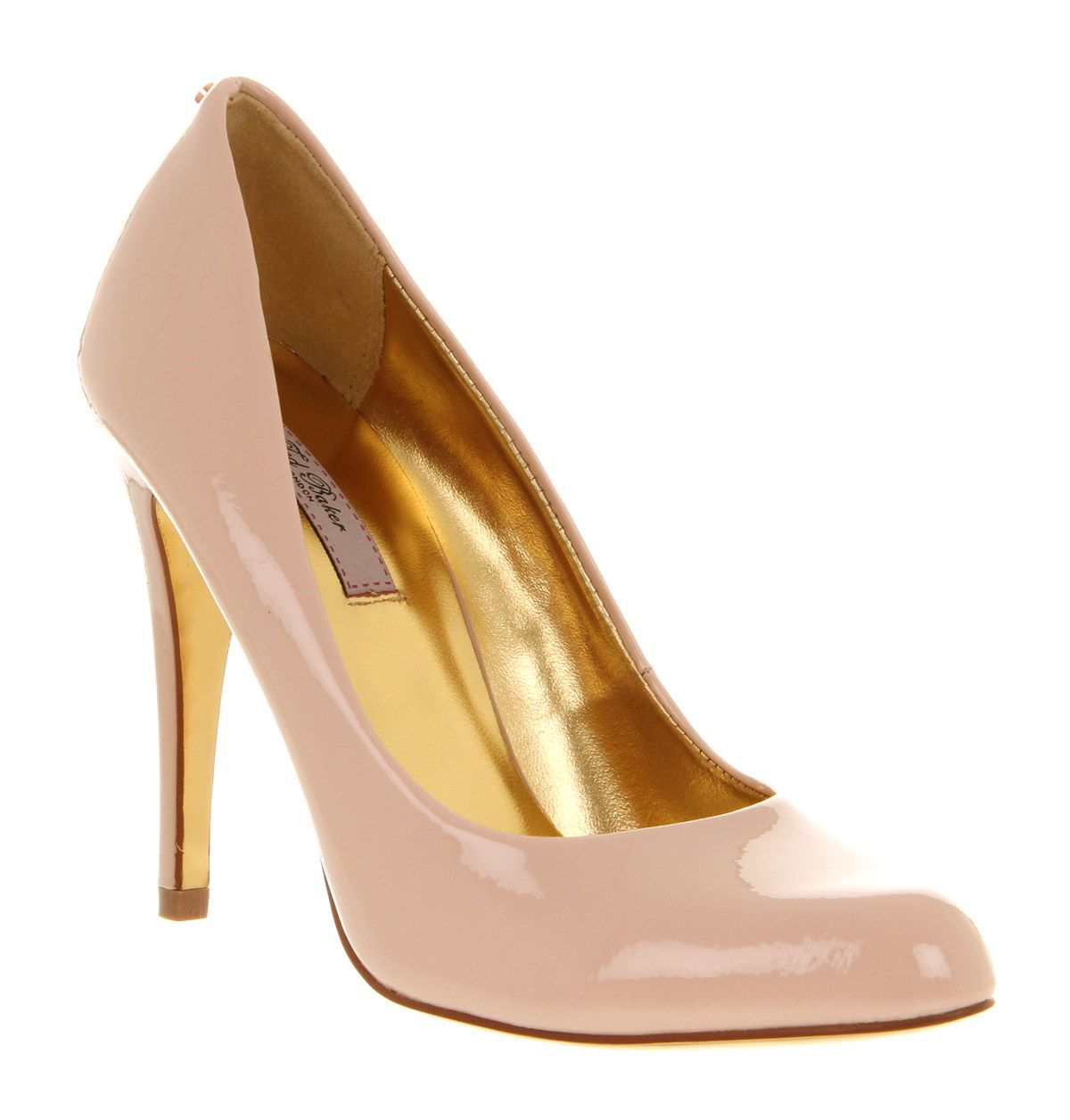 Ted Baker JAXINE 2 COURT SHOE NUDE PATENT LEATHER Shoes - Womens ...
