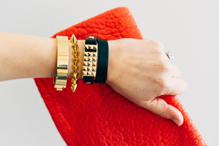 Studs for your Fitbit Flex...Stay motivated and count every stylish step! As loved by style editors in Oprah Magazine, Refinery29, Goop, and more!