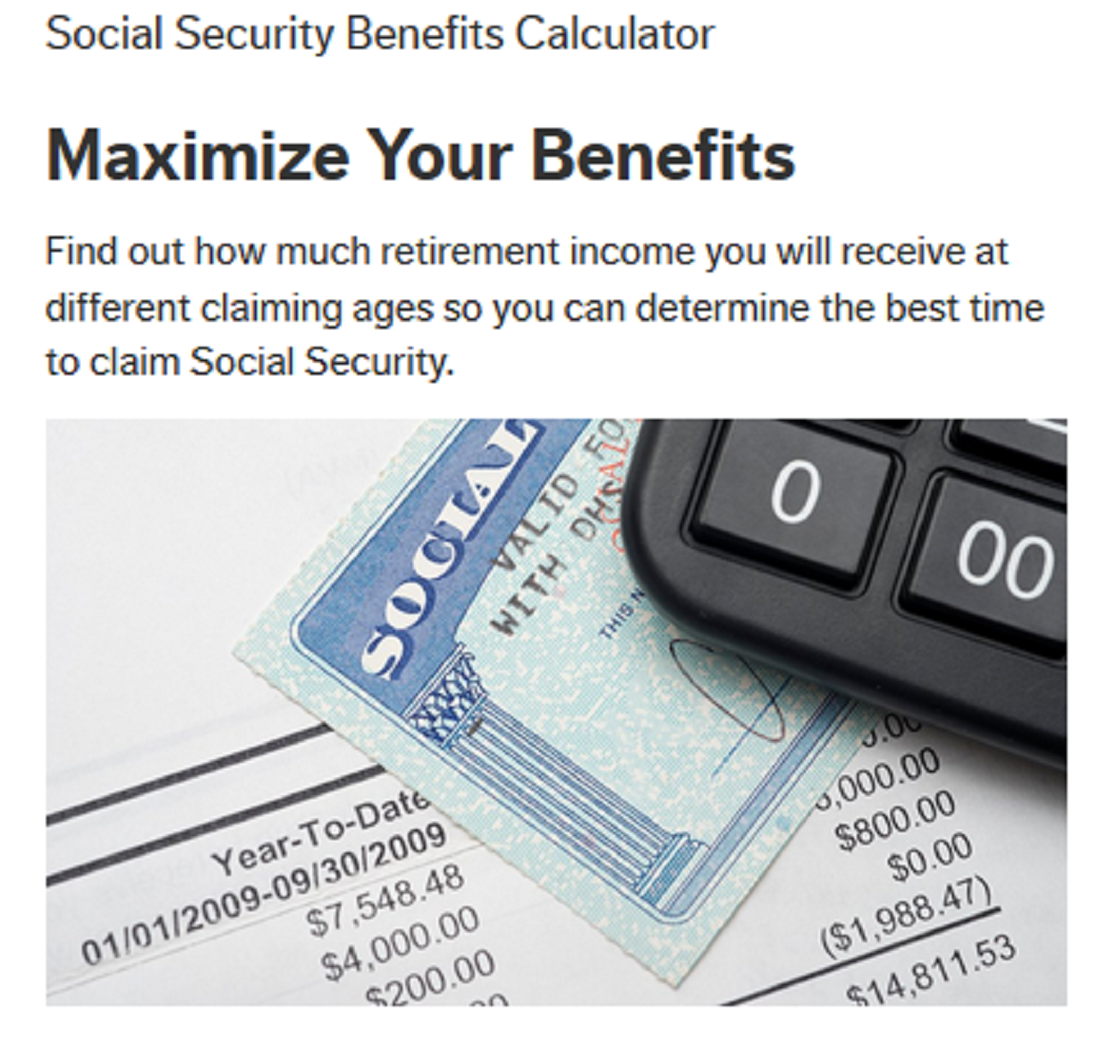 Social Security Calculator
