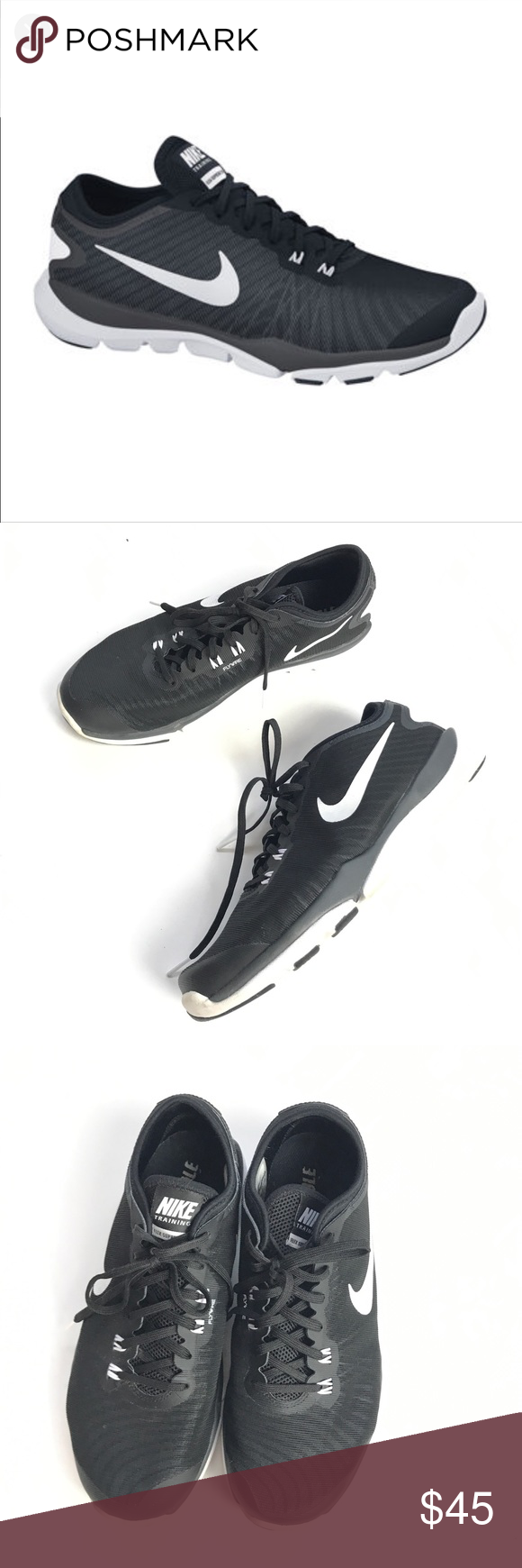 be67a3c08538 Nike Flex supreme TR4 running shoes black Women s Nike Flex Supreme TR4  Athletic Training Shoes Style