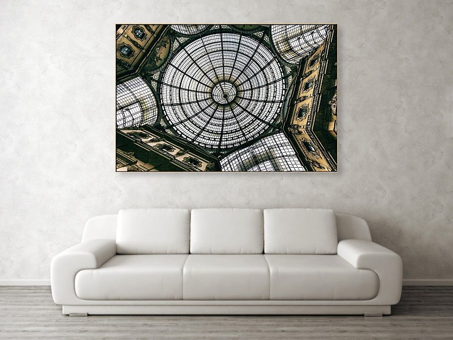 Galleria Vittorio Emanuele II Canvas Print / Canvas Art by Arro FineArt