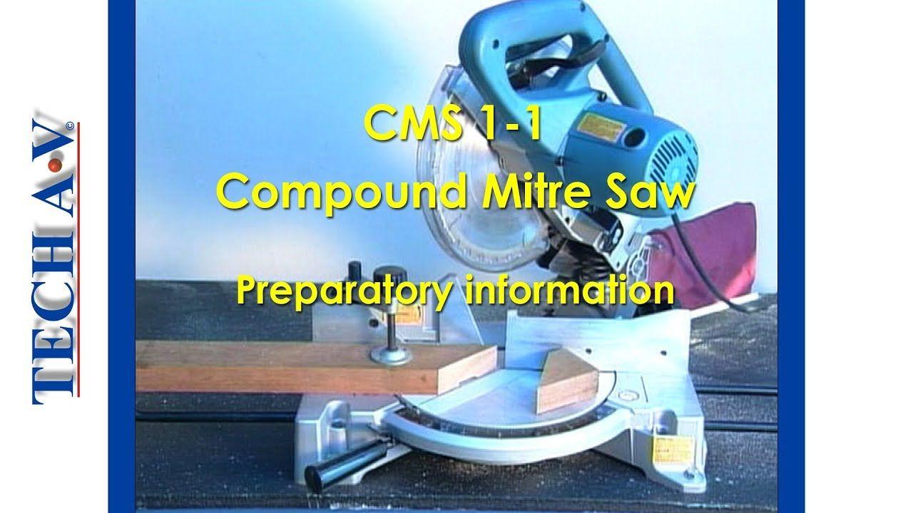 COMPOUND MITRE SAW Preventive maintenance, Compound