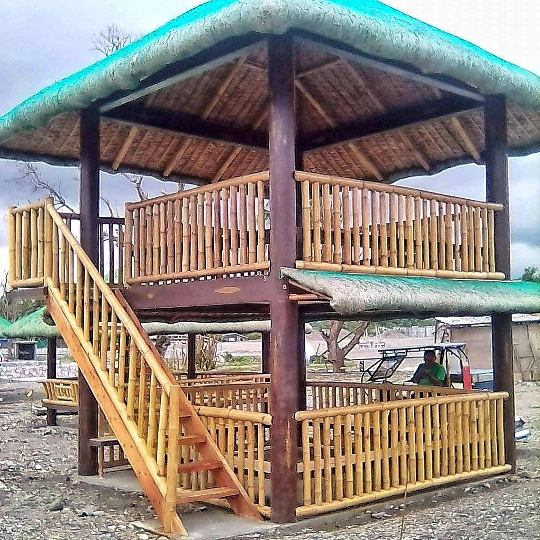 Hut Design: Village House Design, Garden Huts, Bamboo