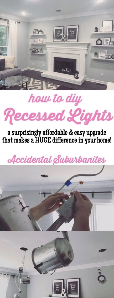 Recessed lighting in our living room ideas How to install recessed ...