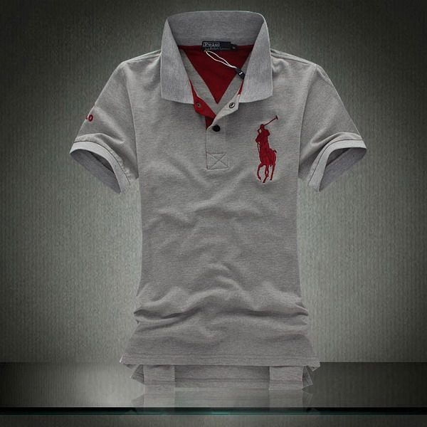 Ralph Lauren Big Pony Polo Shirt Grey http://www.hxzyedu.cn