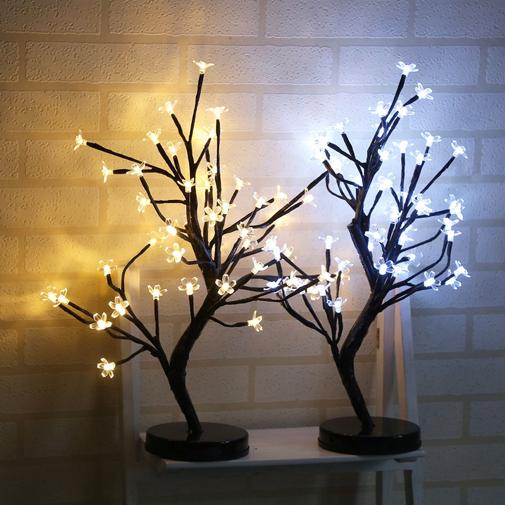 Pin By Flames Yt On Gaming Room Items Cherry Blossom Bonsai Tree Cherry Blossom Tree Tree Lamp