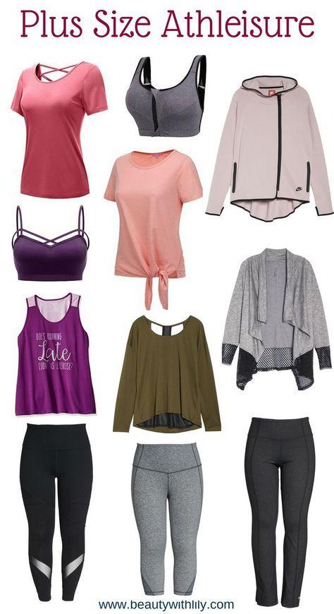 Photo of Plus Size Athleisure // Plus Size Activewear // Plus Size Workout Clothes | Beau…
