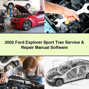 2002 Ford Explorer Sport Trac Service Repair Manual Software Pdf