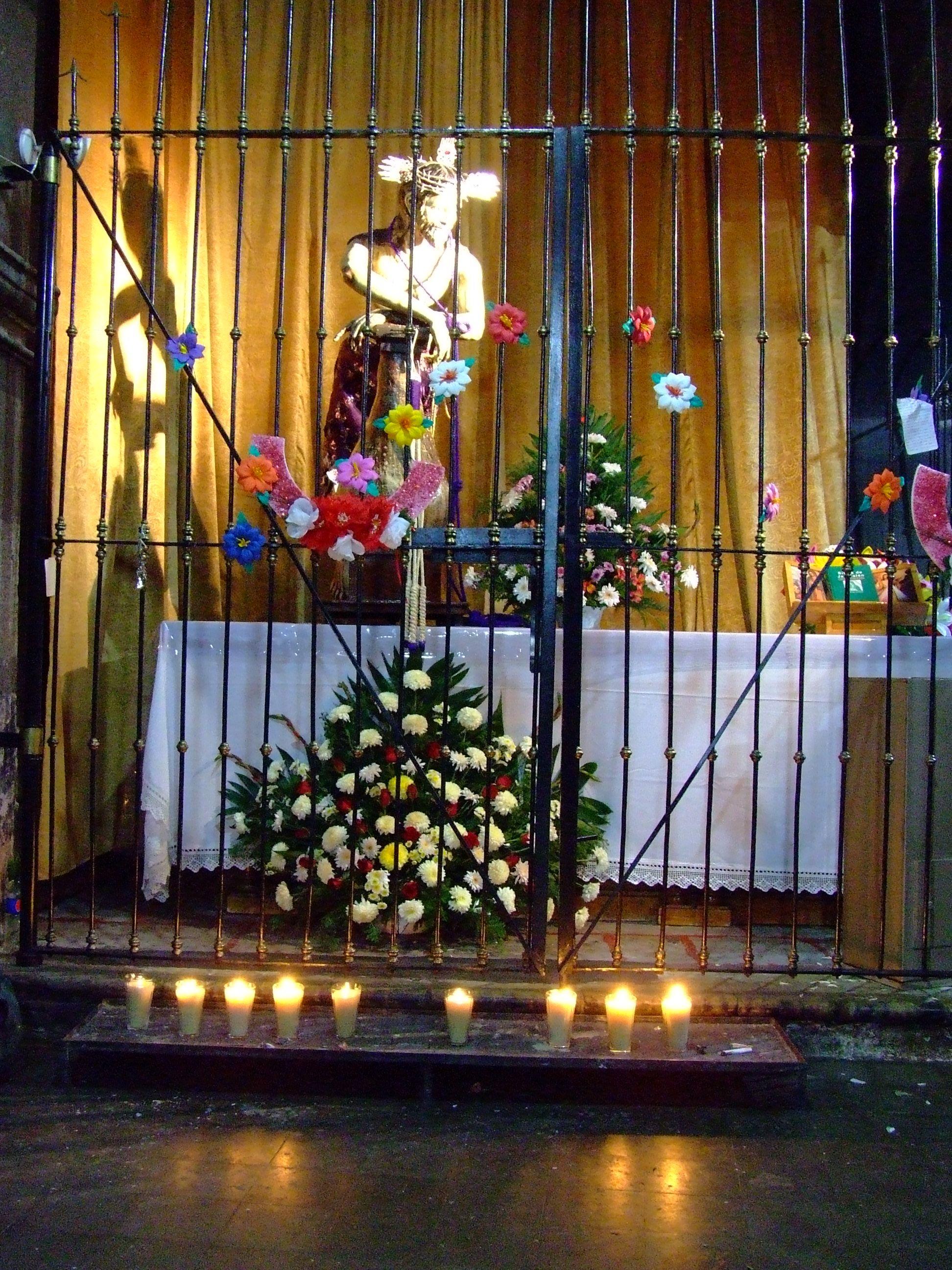 El Señor de la Columna. | Columnas, Casas y Santos