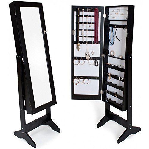 Armoires a bijoux noir miroir | Bedroom Ideas | Pinterest | Bijoux ...