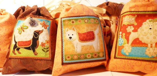 Adventskalender Hunde zum Selbstbefüllen