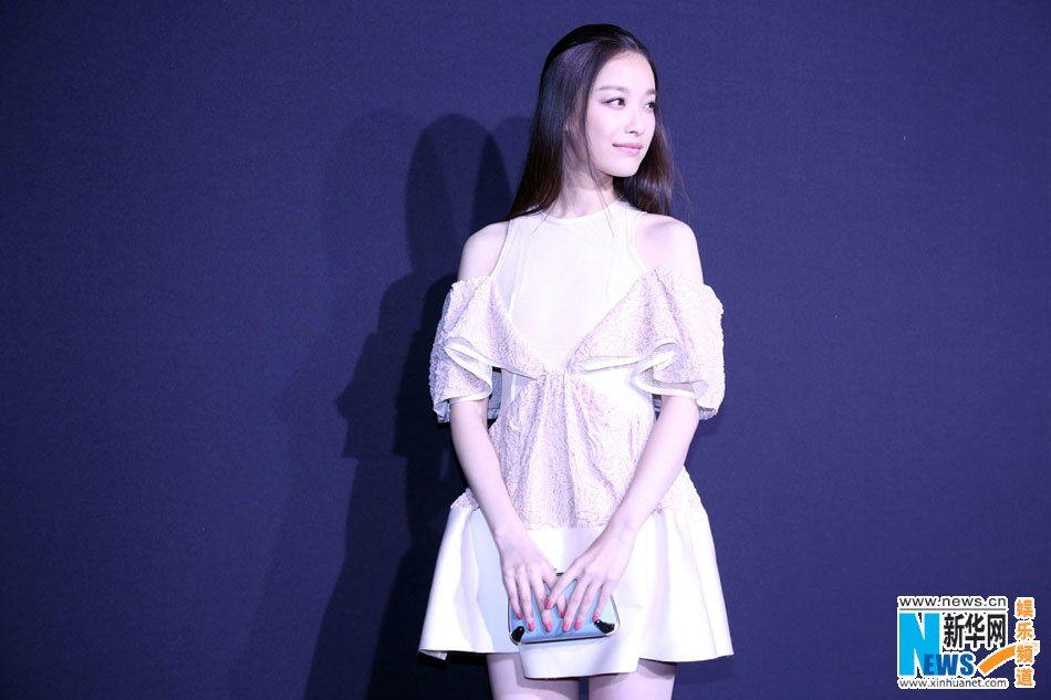 Chinese actress Ni Ni at a brand event.