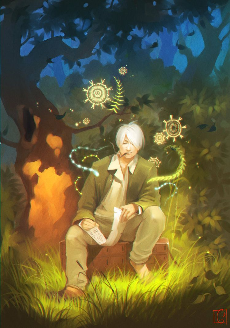 Mushishi Season 1 Episode 5 The Traveling swamp Ginko