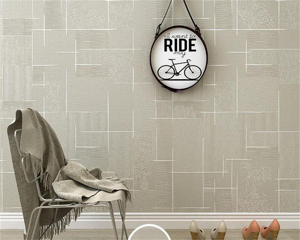 Goedkope beibehang papel parede behang moderne slaapkamer