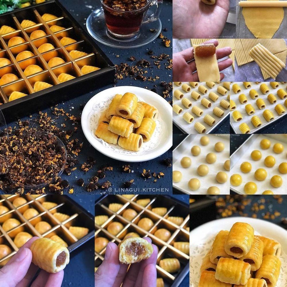 Resep Nastar Kekinian Istimewa Resep Masakan Natal Resep Biskuit Kue Kering Mentega
