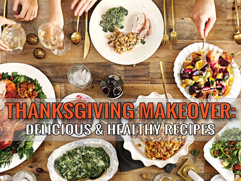 Take charge this year and make Thanksgiving your chance to stop the vicious holiday cycle of guilt. Choose foods that enhance your meal, not diminish it, with these recipes!