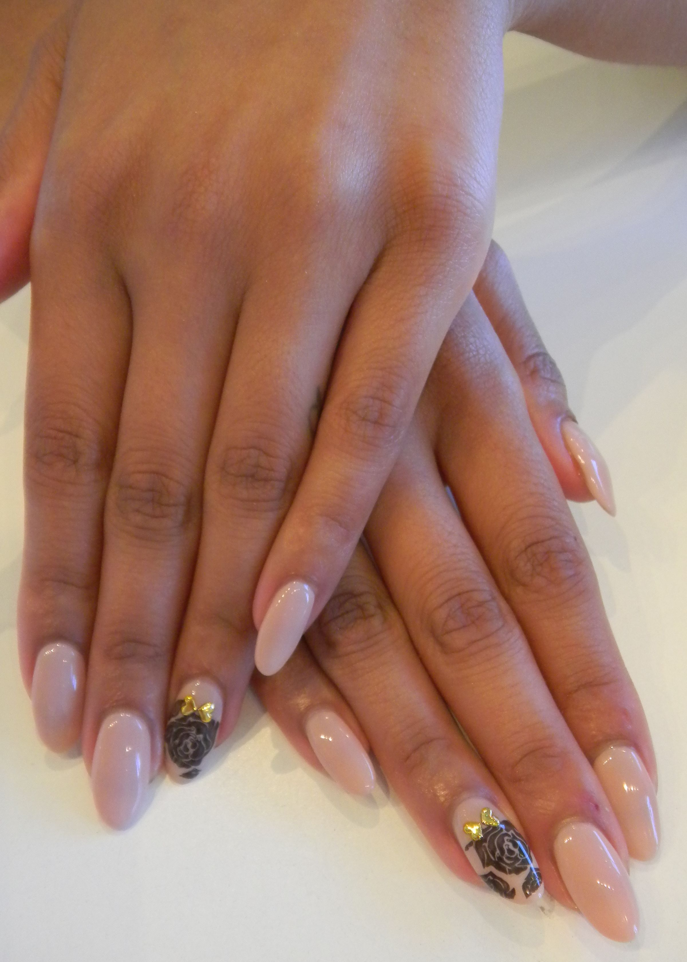 Long Pointy Stiletto Nails Are In! We\'ve painted these nails with ...
