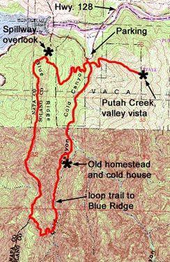 Napa Hiking Trails Lake Berryessa Hiking Hiking Trails Stebbins