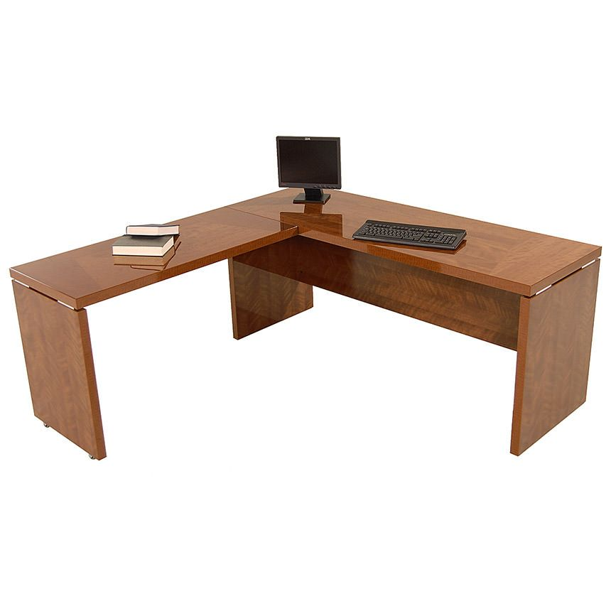 Sedona Brown L Shaped Desk Made In Italy L Shaped Desk L Shape