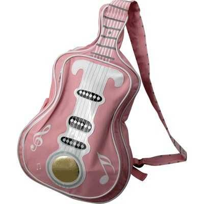 Photo of Guitar Shaped Crossbody Pink Bag