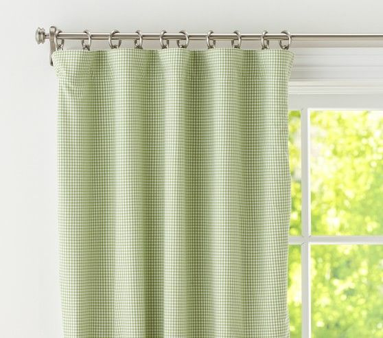 Gingham Blackout Curtain Panel Blackout Panels Gingham