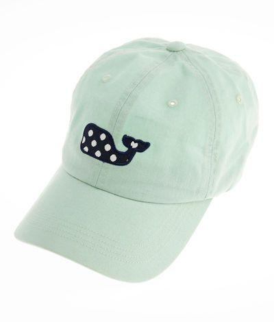 Polka Dot Whale Baseball Hat