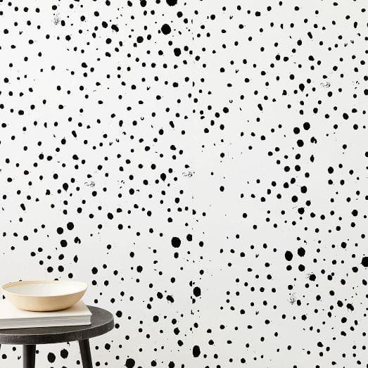 Wallpaper Decals West Elm Dots Wallpaper Removable Wallpaper Wallpaper