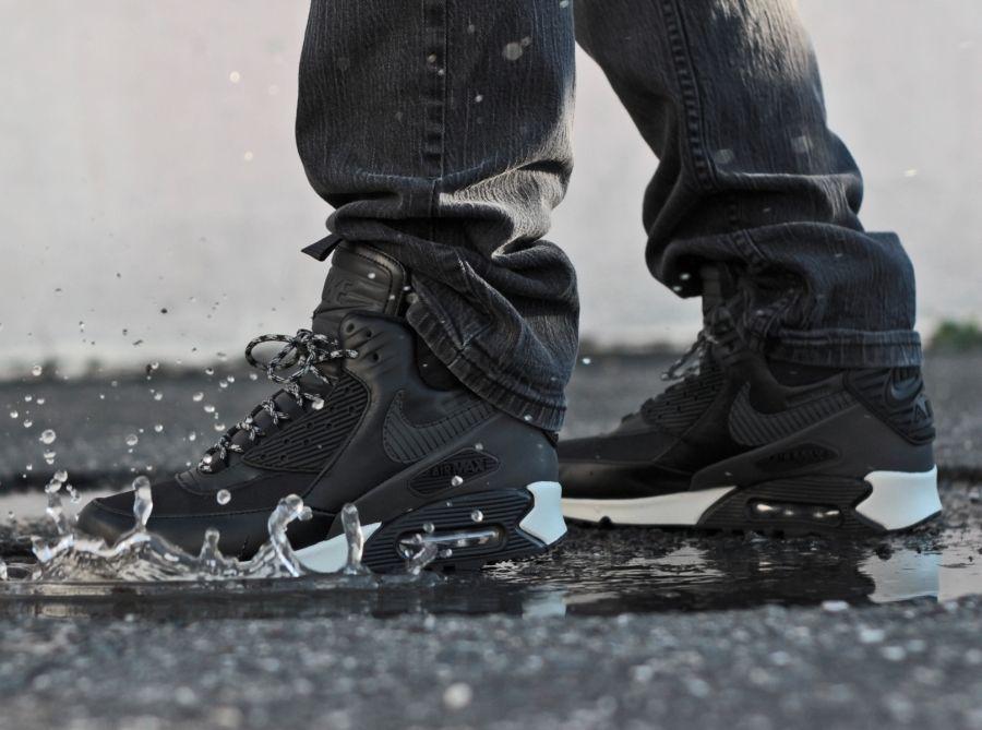 Nike Air Max 90 Sneakerboot Waterproof Mens Shoes 684714 001