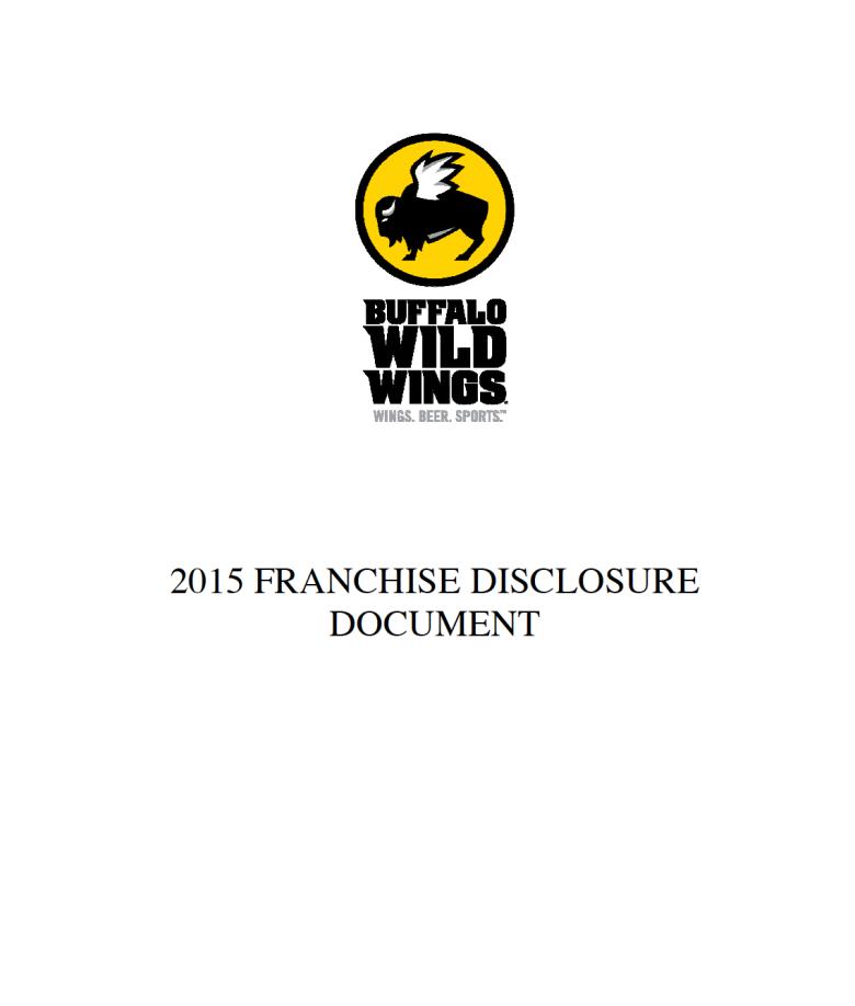 Buffalo Wild Wings Franchise Due Diligence Report Buffalo Wild Wings Buffalo Wings