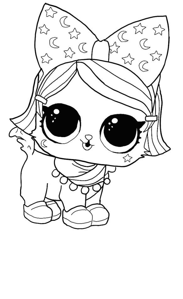 Lol Surprise Unicorn Coloring Pages Star Coloring Pages Cute Coloring Pages