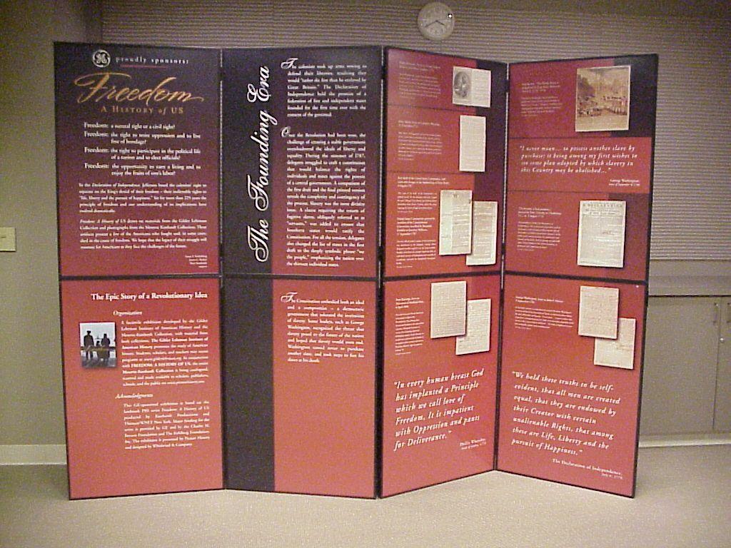 history day exhibit design museum exhibits. Black Bedroom Furniture Sets. Home Design Ideas