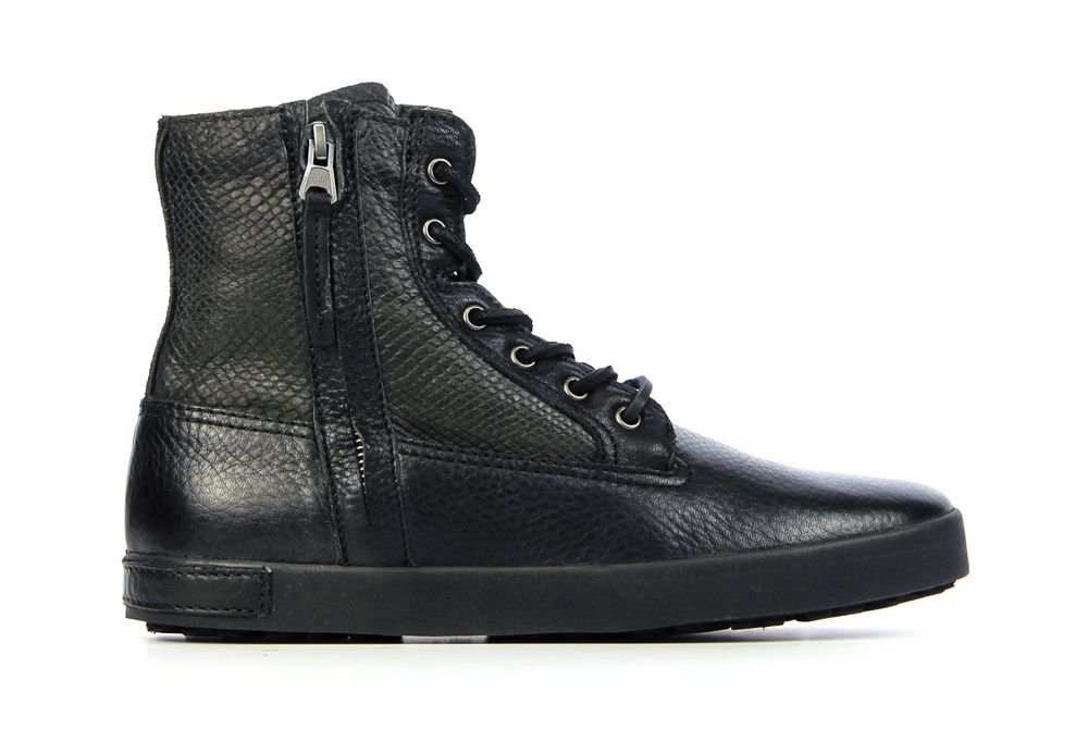 Musthave Blackstone Il59 Zwart Sneakers van het merk Blackstone voor Dames . Uitgevoerd in Zwart gemaakt van .