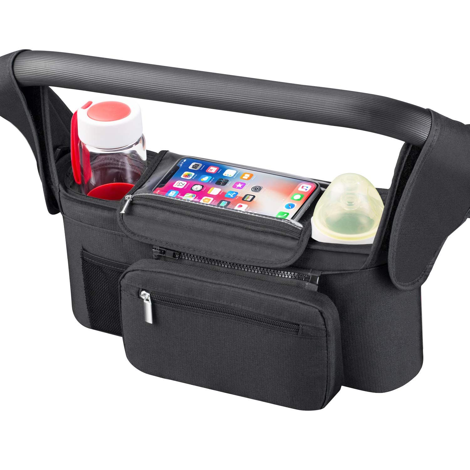 Universal Stroller Organizer [Upgraded] for Smarter Mom