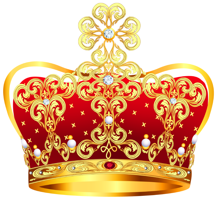red crown clipart - photo #26